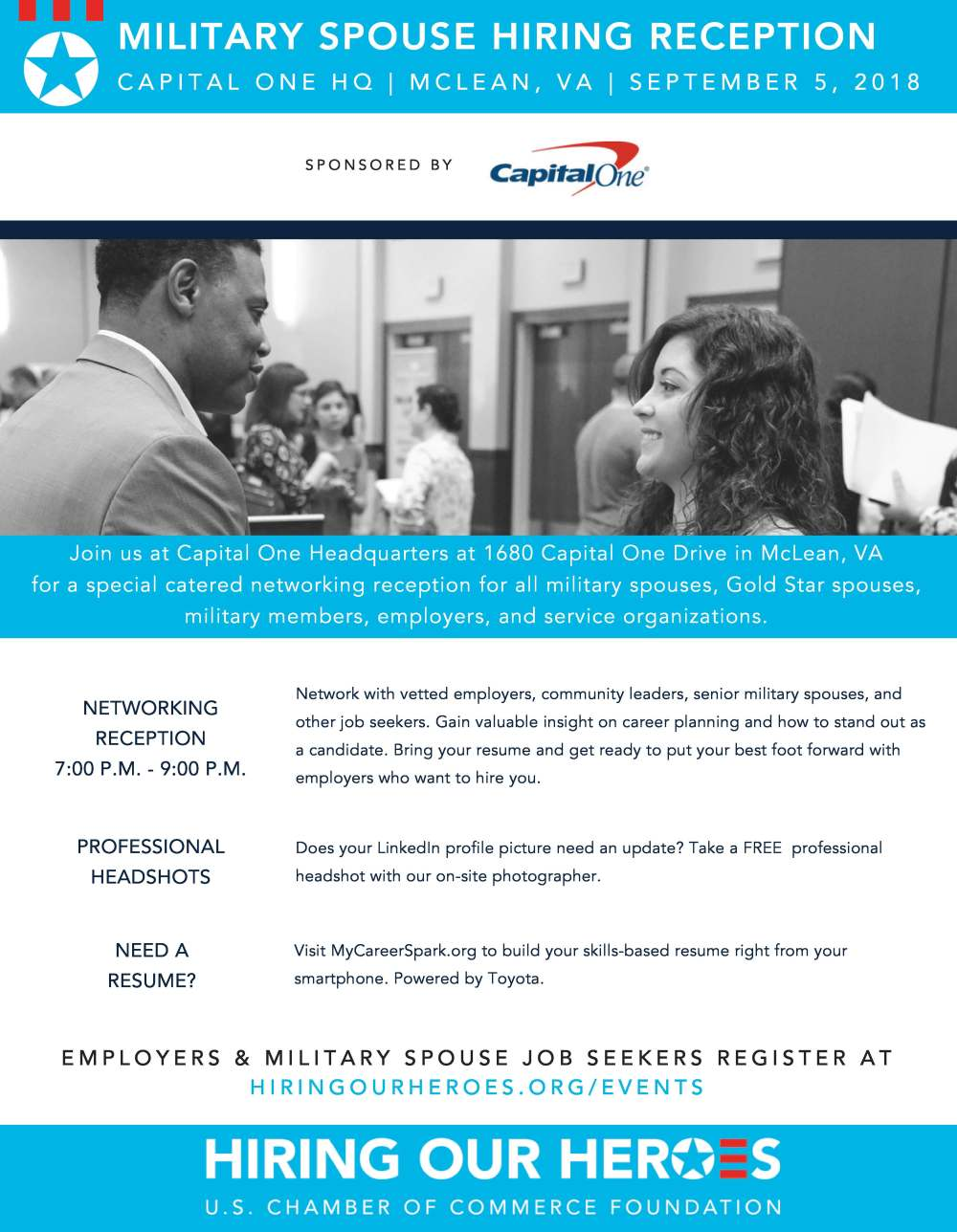 Washington DC Networking Reception_Capital One Flyer Final